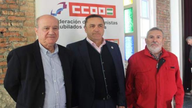 CCOO en un acto sobre pensiones