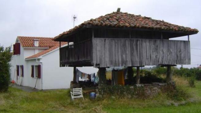 Un hórreo asturiano, en una imagen de archivo.