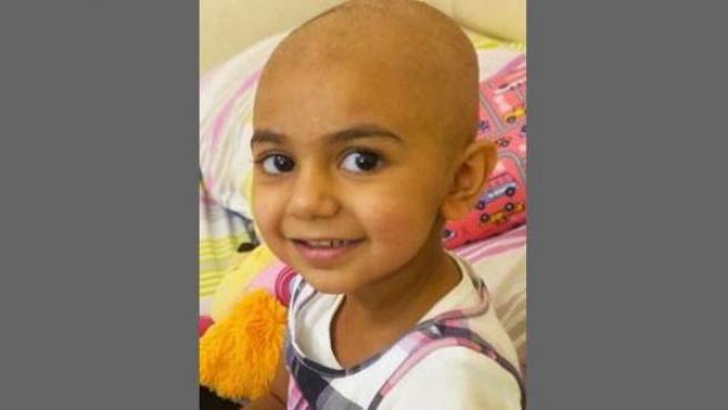 La niña Zainab, de Florida (EE UU), enferma de cáncer, y necesitada de una donación de sangre sin el antígeno Indian B.