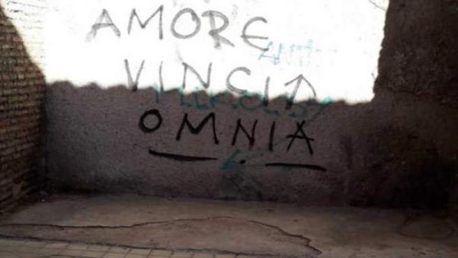 Pintada en Arco Elvira