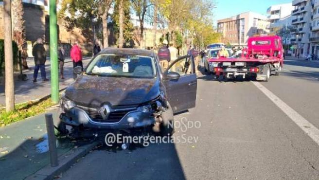 Accidente en Muñoz León, en Sevilla