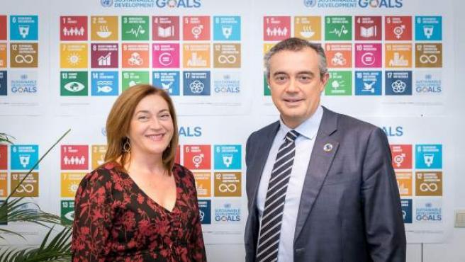 Martínez Arregui, con Fernández Shaw
