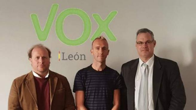 Vox León ficha al ex atleta Sergio Sánchez.