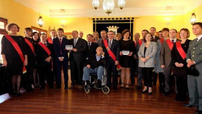 El Ayuntamiento de Tarazona reconoce a la Banda de Tarazona y a la ACT