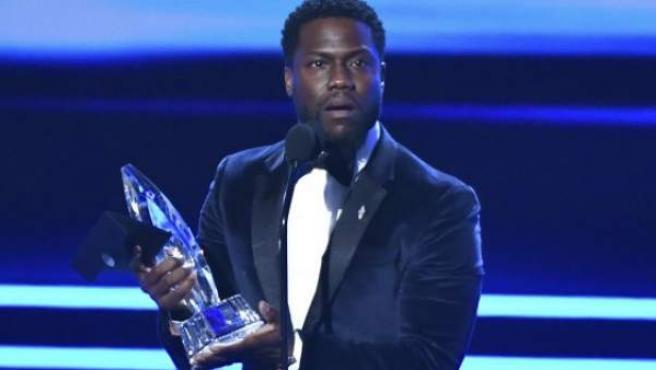 El actor Kevin Hart, en los People's Choice Awards, en una imagen reciente.