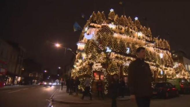 Se trata de uno de los pub más emblemáticos de Londres y este año no se ha quedado atrás.