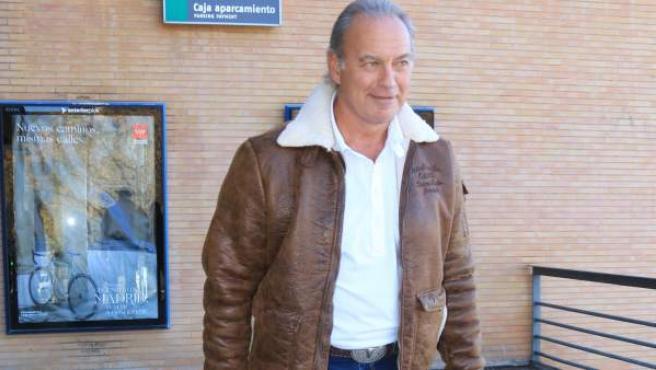 El cantante y presentador Bertín Osborne, el pasado miércoles en Sevilla.