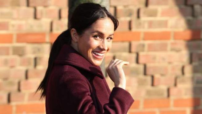 La duquesa de Sussex, Meghan Markle, en una imagen del pasado mes de noviembre.