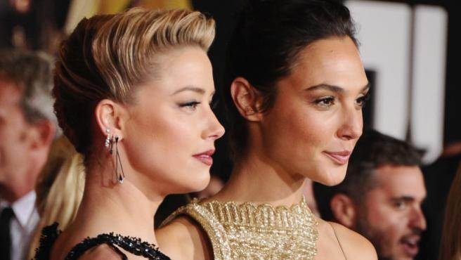 Amber Heard quiere una película con Wonder Woman