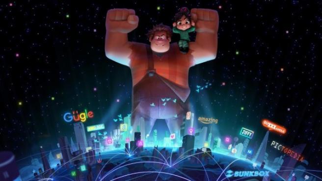 Ralph y Vanellope, los héroes animados del año, se pierden en un mundo sin límites llamado internet.