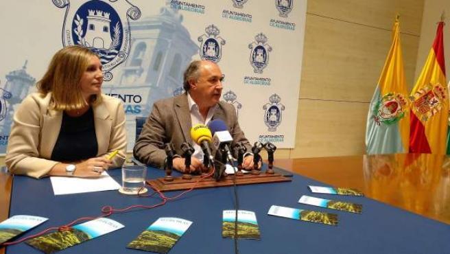 El alcalde de Algeciras, José Ignacio Landaluce