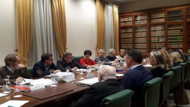 Reunión plenaria de la Fundación Cueva de Nerja