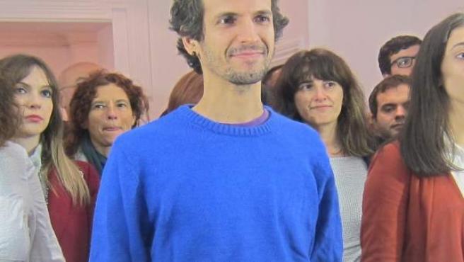 David Bruzos, candidato al Consello das Mareas