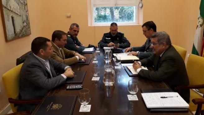 Reunión con el alcalde de Umbrete