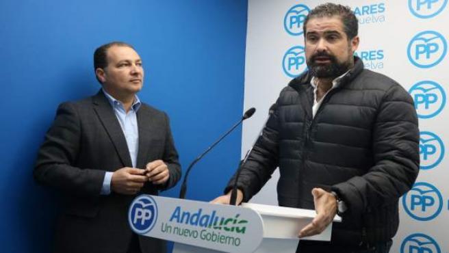 El primer teniente de alcalde de Cartaya, Manuel Barroso.