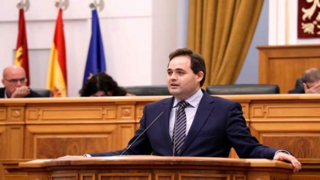 Paco Núñez, PP, en el pleno de las Cortes