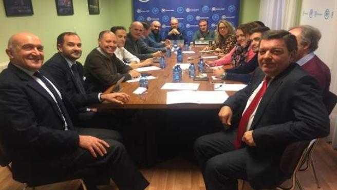 El Comité de Campaña del PP.