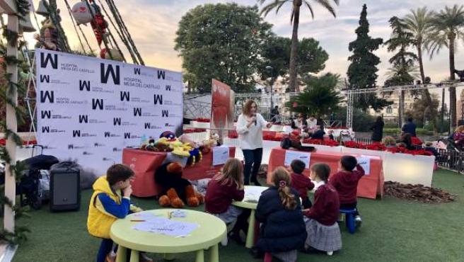 Hospital Mesa del Castillo imparte un taller de primeros auxilios a niños