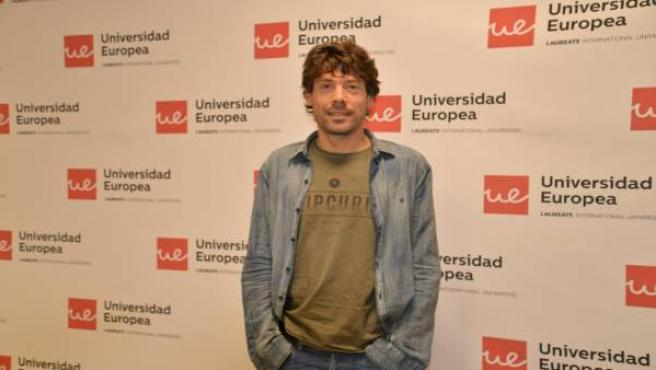 El exciclista Óscar Freire en un curso en la Universidad Europea