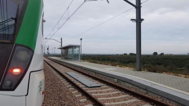 Tren tranvía de la Bahía de Cádiz
