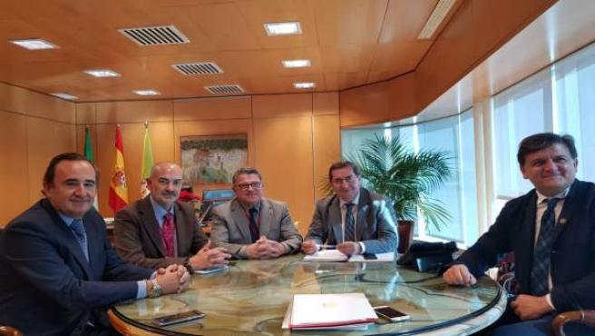 Reunión de Eticom y Diputación