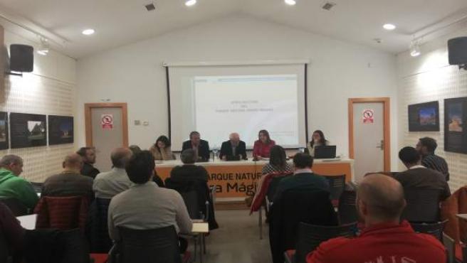 Reunión de la Junta Rectora del Parque Natural Sierra Mágina