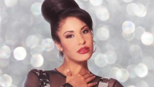 La cantante mexicana-estadounidense Selena Quintanilla.