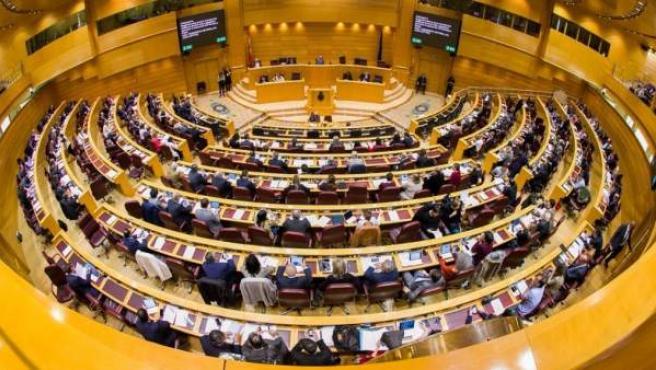 Sesión plenaria del Senado, en una imagen de archivo.