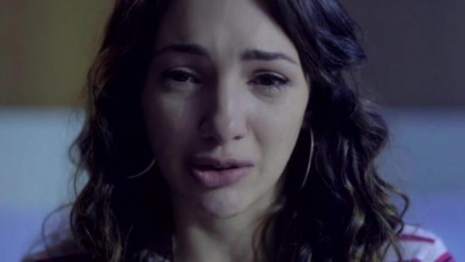 Thelma Fardín, en el vídeo en el que denuncia la violación de Juan Darthés.