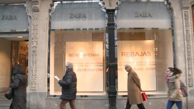 Inditex gana 2.438 millones en los nueve primeros meses de su año fiscal.