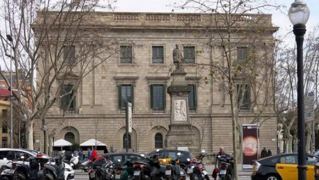 Casa Llotja de Mar (Barcelona), en una imagen de Wikipedia.