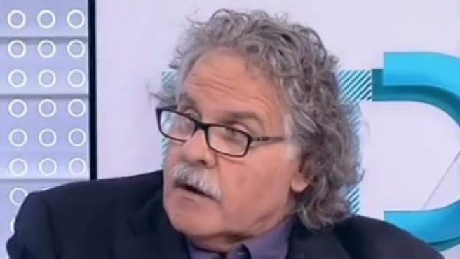 Entrevista en TVE al diputado de ERC en el Congreso Joan Tardà.