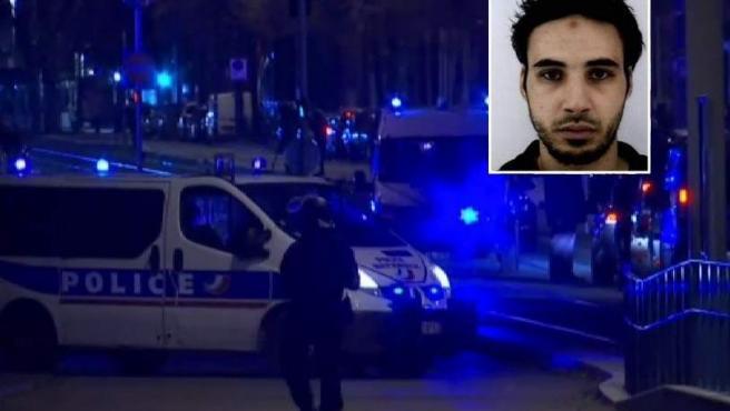Abatido el presunto terrorista autor del tiroteo en Estrasburgo.