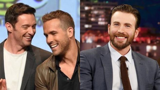Chris Evans y Ryan Reynolds, dúo de trolls contra Hugh Jackman