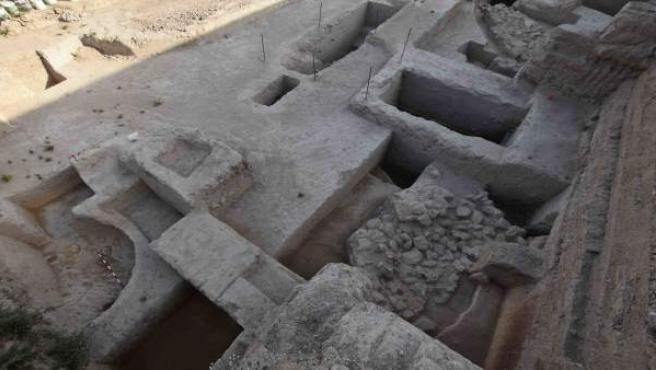 Estructuras halladas en Valencina