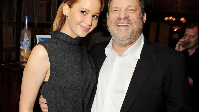 Harvey Weinstein presumió de haberse acostado con Jennifer Lawrence