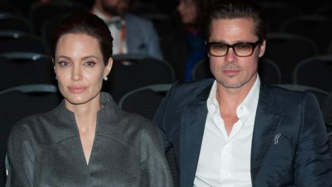 Los actores Angelina Jolie y Brad Pitt, en una imagen de 2014.