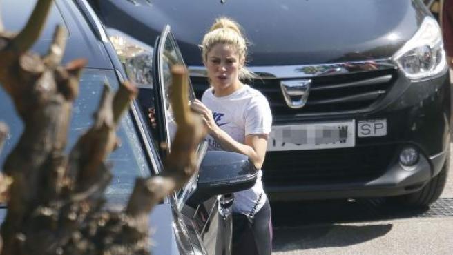 Imagen de archivo de la cantante colombiana Shakira, en una calle de Barcelona.