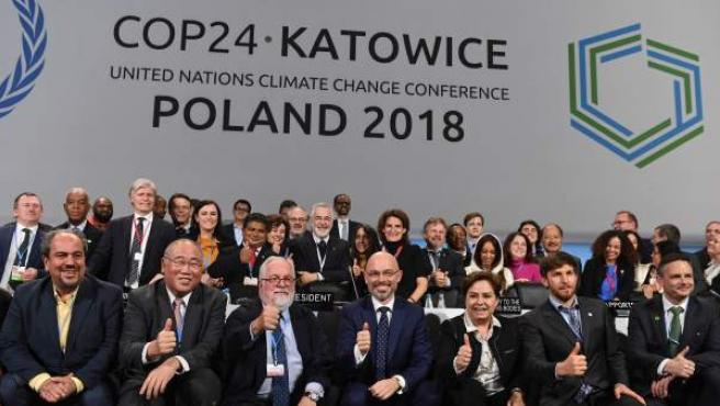 Final de la cumbre del clima de Katowice, Polonia.