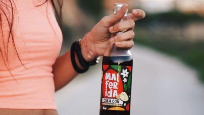 Una botella de Malferida, el refresco que recuerda el origen valenciano de la Coca-Cola.