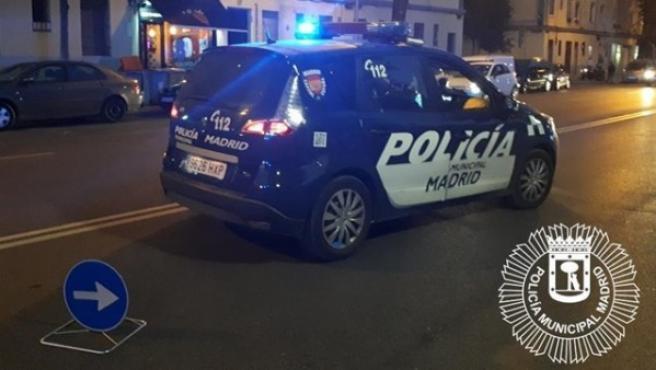 Vehículo de la Policía Municipal de Madrid.