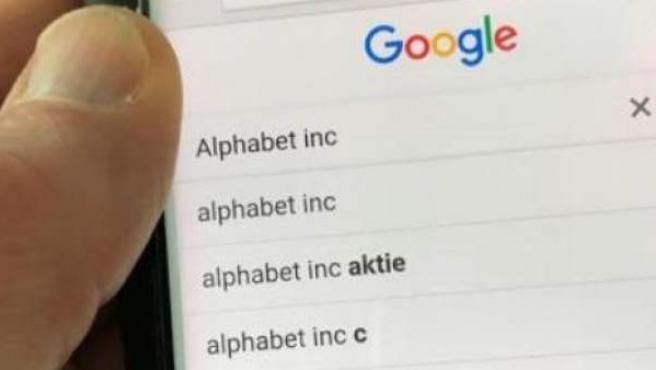 Búsqueda de Alphabet Inc.