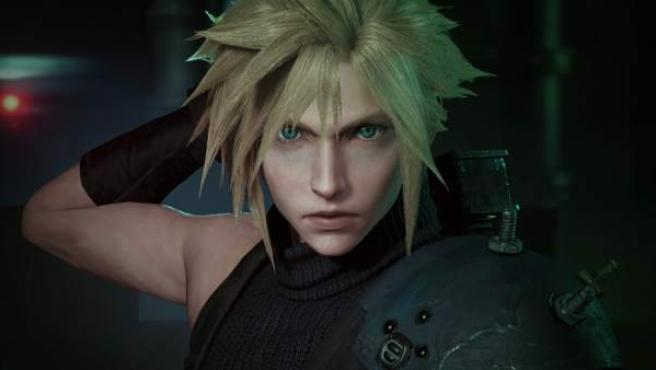 Fotograma del tráiler de 'Final Fantasy VII Remake'.