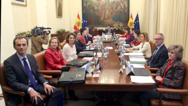 Reunión de Consejo de Ministros en Sevilla.