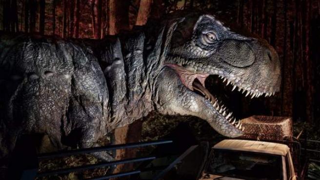El mítico T-Rex es uno de los protagonistas principales de 'Jurassic World Exhibition'.
