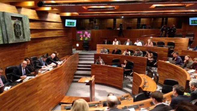 Pleno de la Junta General sobre presupuestos