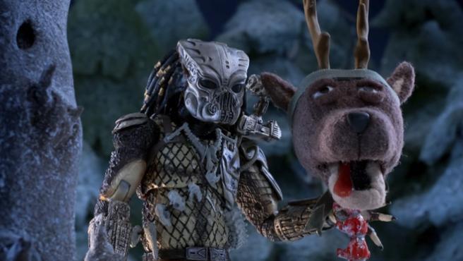 La Navidad no empieza hasta que veas el especial de 'Predator'