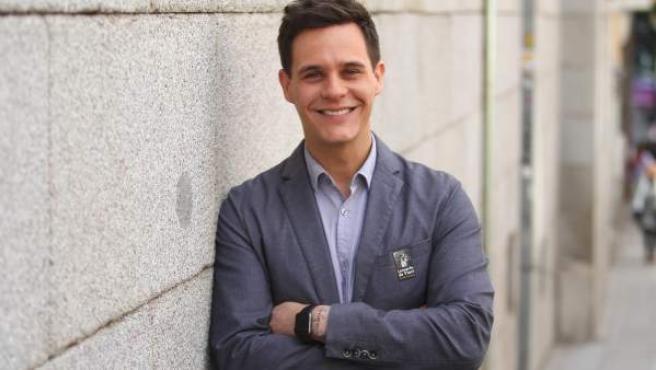 Imagen de archivo del presentador Christian Gálvez.
