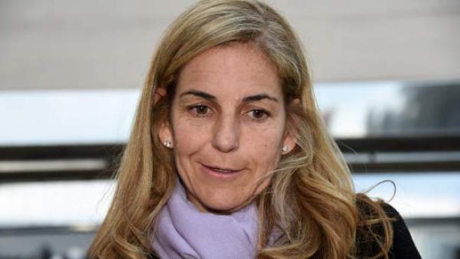Una imagen de archivo de Arantxa Sánchez Vicario.