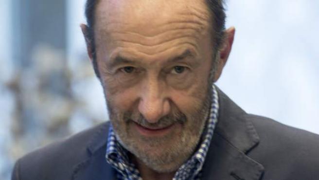 El exsecretario general del PSOE y exministro Alfredo Pérez Rubalcaba.